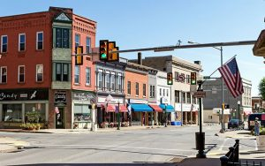Downtown DuBois, PA - Photo credit - Adam Covert Photography