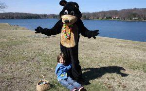 Decorative Photo Showing Fun Event in Treasure Lake located near DuBois, PA.
