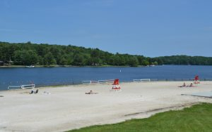 Decorative Photo of Treasure Lake showing New Providence Beach - Located near DuBois, PA