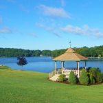 gazebo Treasure Lake PA