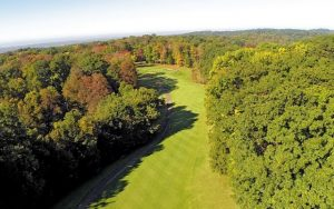 Decorative Aerial Photo of Golf Course at Treasure Lake