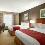 Hotel Room near Treasure Lake PA