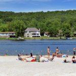 Decorative Photo showing New Trinidad Beach. Located in Treasure Lake, near DuBois, PA.