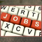 Decorative Photo Showing JOBS