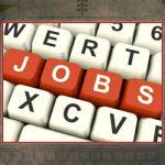 Decorative Photo Showing JOBS