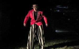 Decorative Photo Showing Spooky Halloween Fun in Treasure Lake located near DuBois, PA.