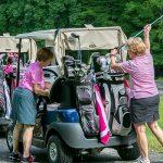 Golfer Golf Cart Outing