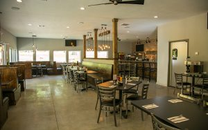 Decorative Photo Showing the interior at Duffers' Tavern on Treasure Lake, PA, located near DuBois, PA. Your Neighborhood Sports Bar.