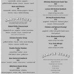 duffers menu 2