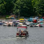 Decorative Photo of Boating on Treasure Lake near DuBois, PA.